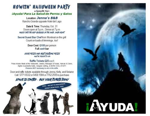 Come Howl with Us on Halloween!