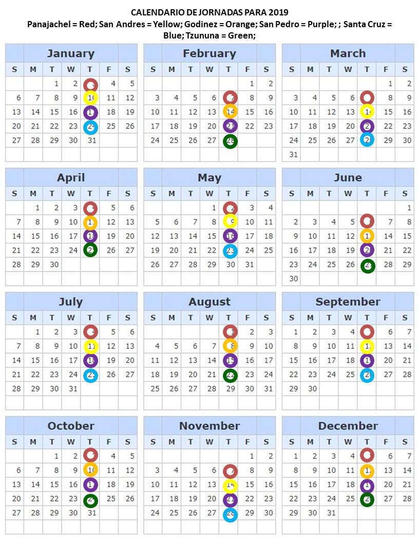 Calendario.2019